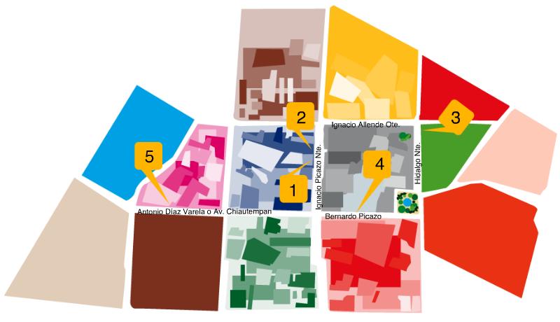 Mapa-distribuidores